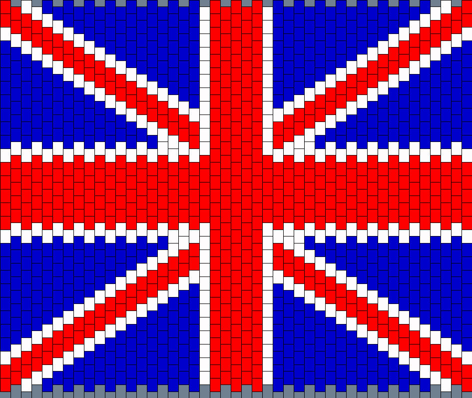 Britain Flag Panel for bag