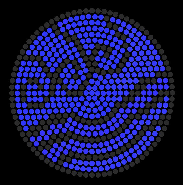 waterbender symbol perler