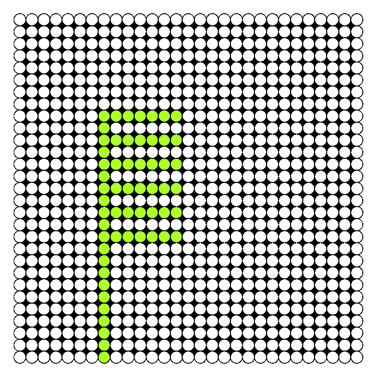 COMB Perler Bead Pattern / Bead Sprite