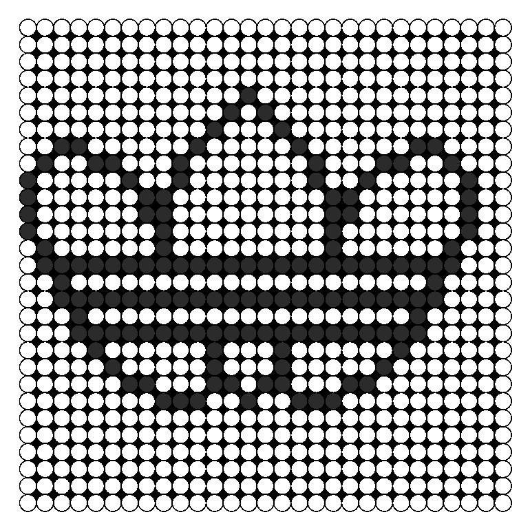 Adidas Logo Perler Bead Pattern / Bead Sprite