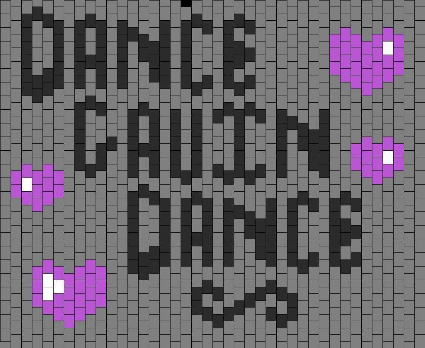 Dance Gavin Dance Panel Bead Pattern