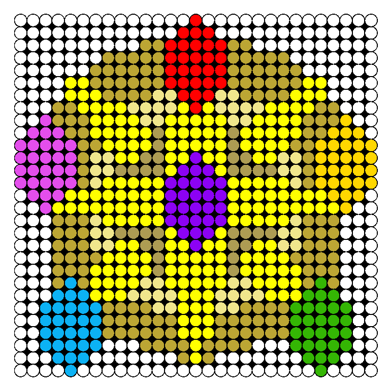 Elements Of Harmony Perler Bead Pattern / Bead Sprite