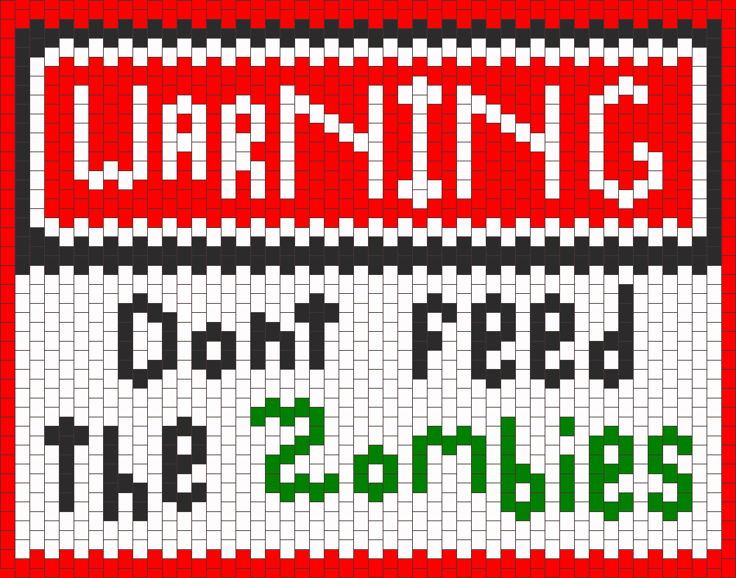 Warning Zombies Sign