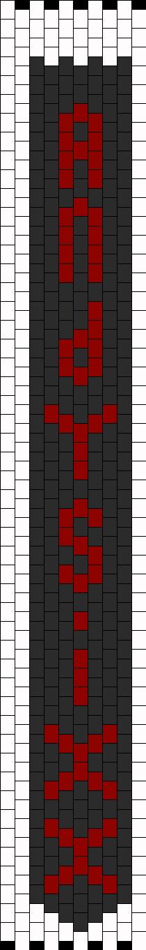 Andy Sixx Tie Bead Pattern