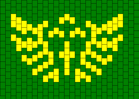 Triforce Bead Pattern