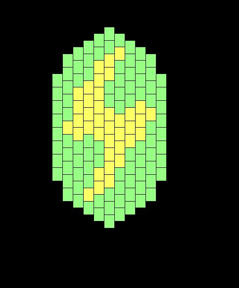 Pokemon Thunderstone Bead Pattern