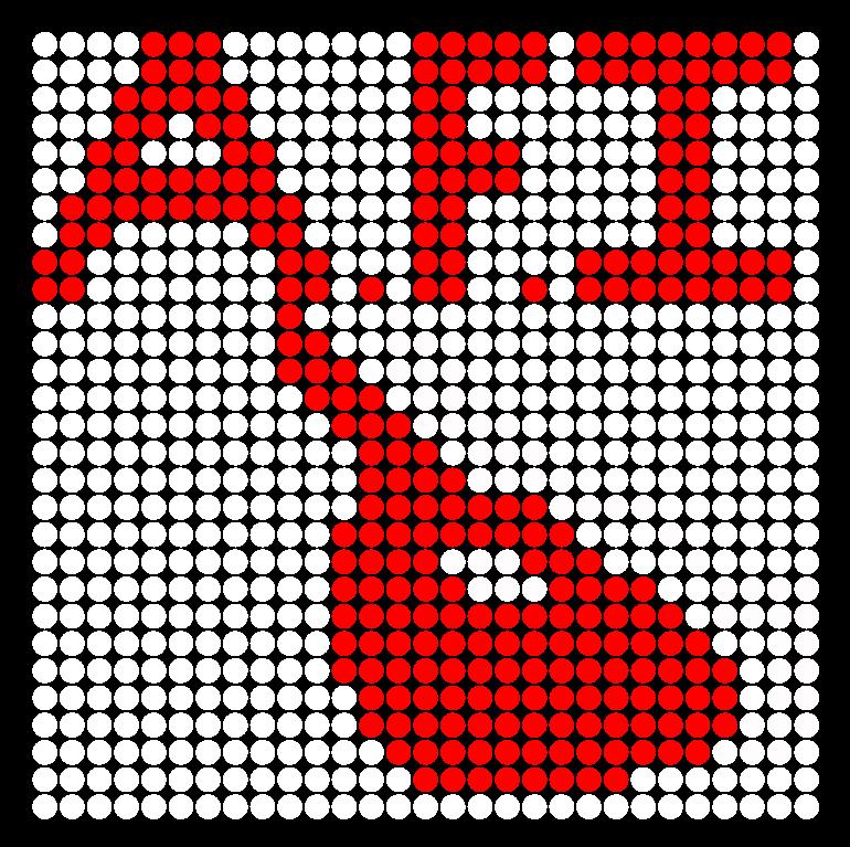 AFI Perler Bead Pattern / Bead Sprite