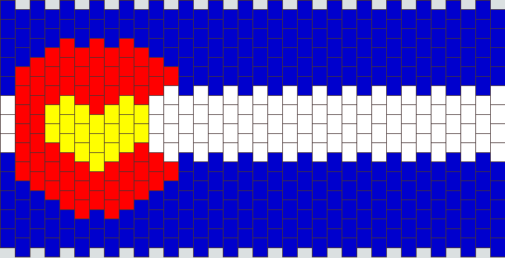 Colorado Flag With Heart
