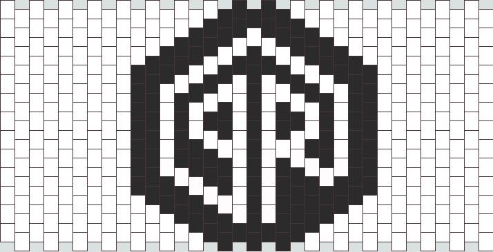 Simple Porter Robinson Kandi Pattern