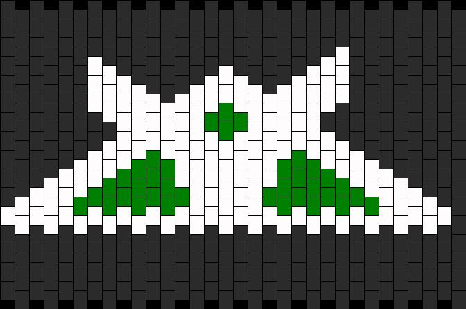 Halo Reach Recon Kandi Pattern