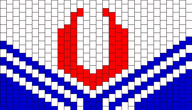 Sailor Moon Flag Cuff