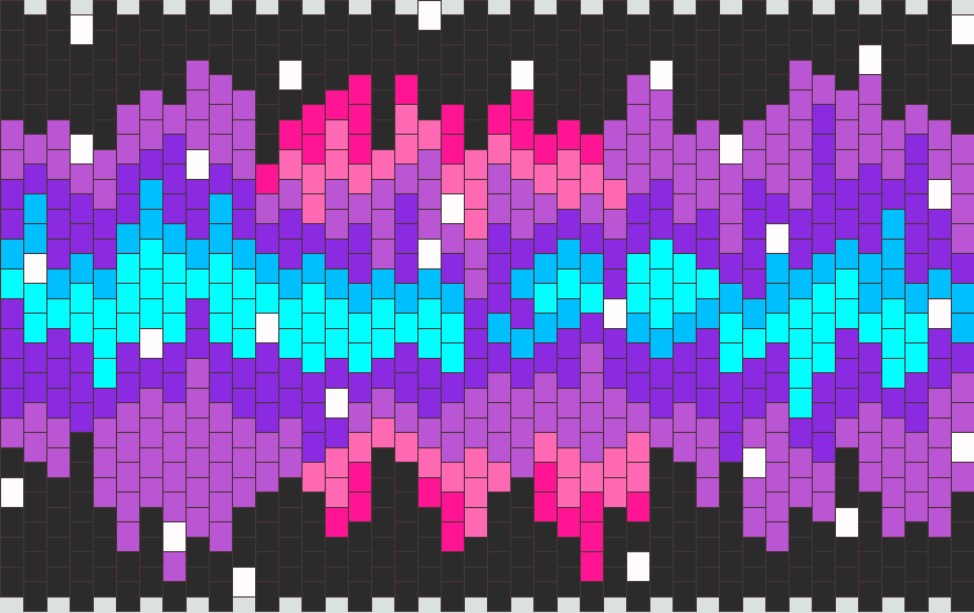 Nebula Kandi Pattern