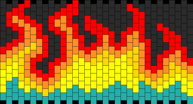 Fire Kandi Pattern