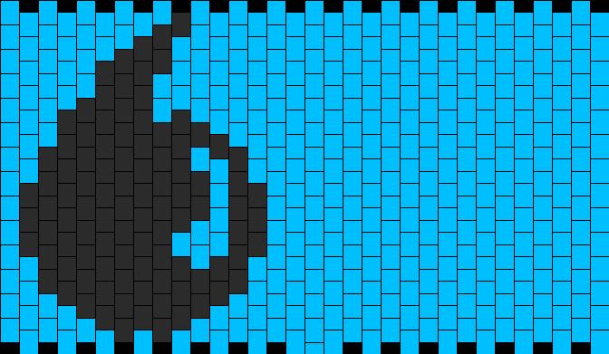 MTG Blue Mana Symbol