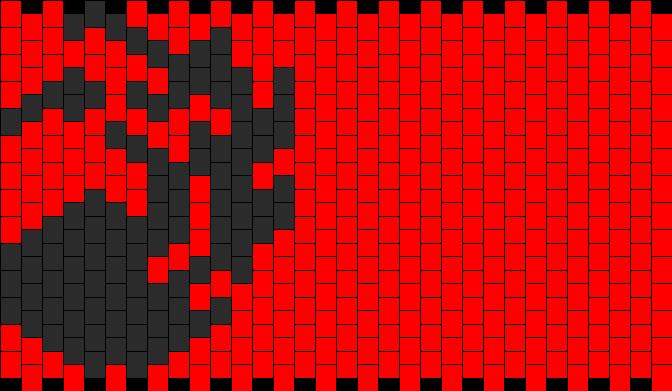 MTG Red Mana Symbol