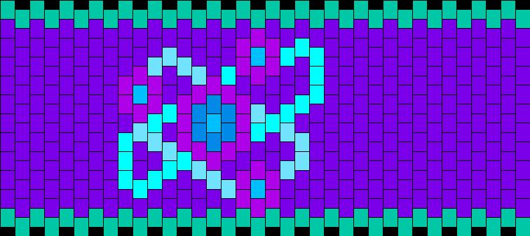 RuneScape Divination Skillcape Kandi Pattern