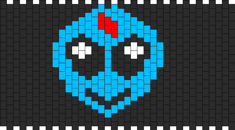 Skrillex Alien Logo Kandi Pattern
