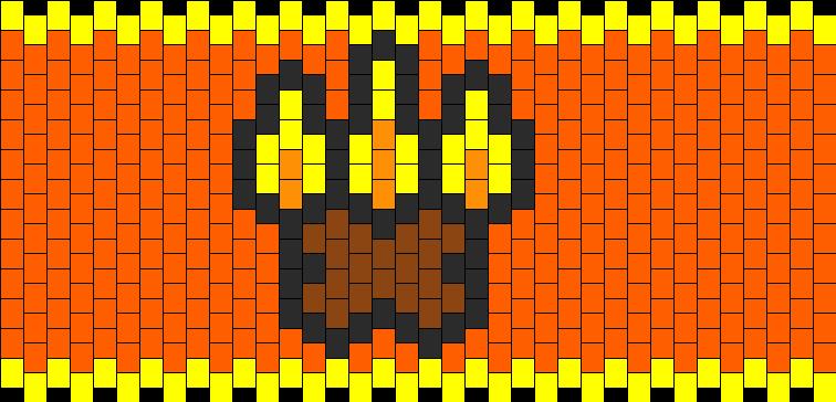 RuneScape Firemaking Skillcape Cuff