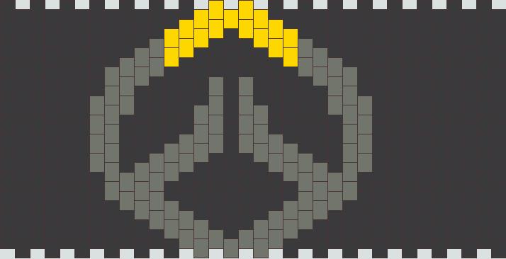 Overwatch Emblem Kandi Pattern