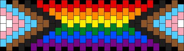LGBTQ+ Pride Cuff