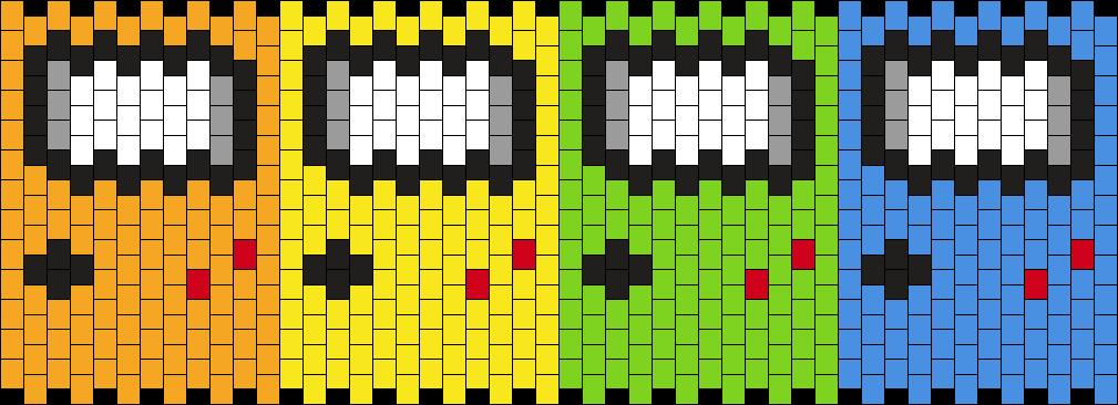 Gameboys 7mm Kandi Pattern