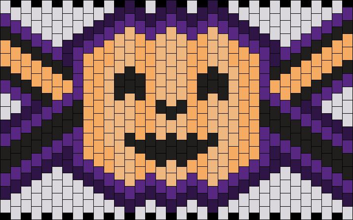 Pumpkin Halloween Cuff