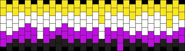 Drippy Non-binary Flag