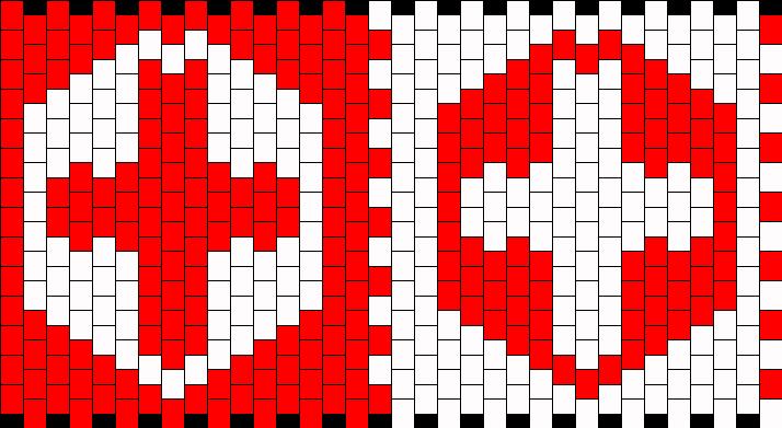 Nursing Cuff Kandi Pattern