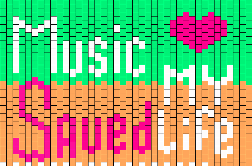 Music Saaved My Life Kandi Pattern