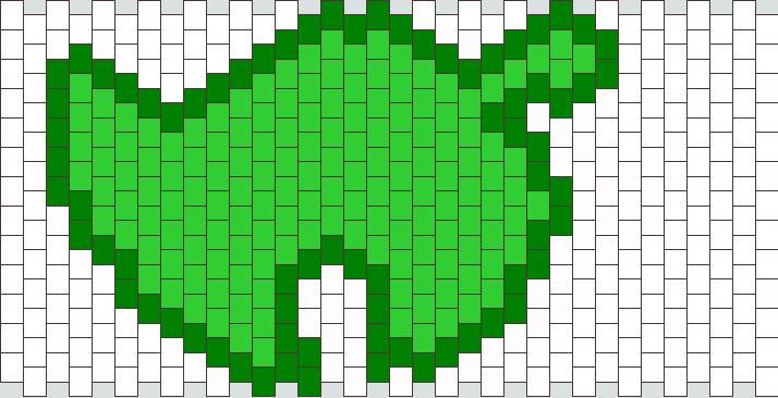 Animal Crossing Logo Kandi Pattern