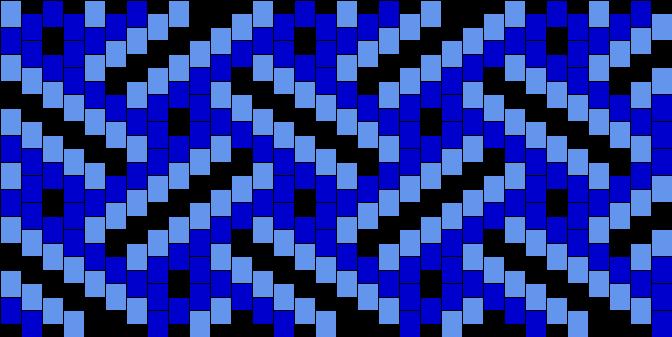 Braided Waves Pattern