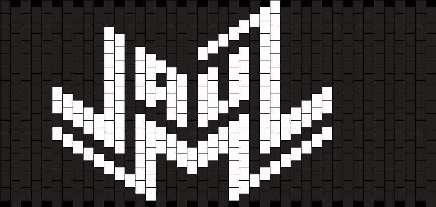 Jauz Cuff Kandi Pattern