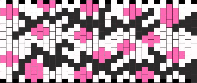 Cherry Blossom 2 Kandi Pattern