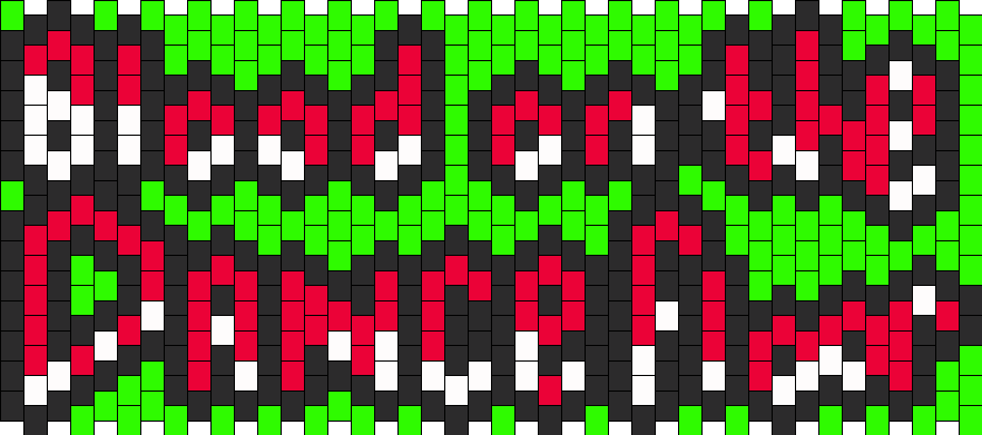 Blood On The Dance Floor Kandi Pattern