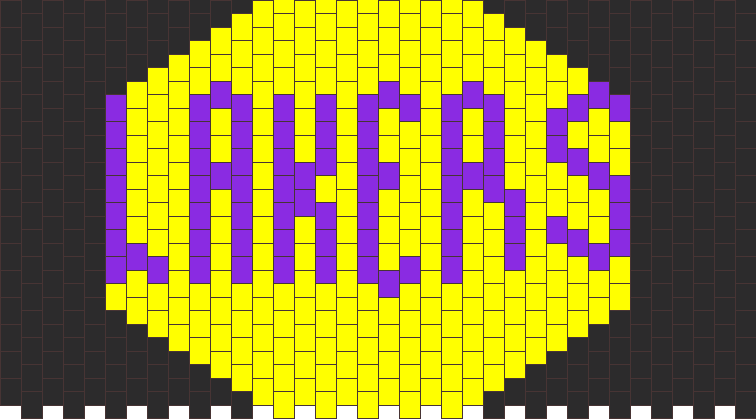 Lakers Kandi Pattern