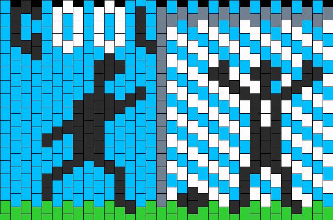 Soccer Kandi Pattern