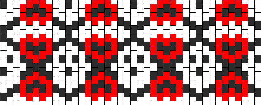 Ghost Love Kandi Pattern