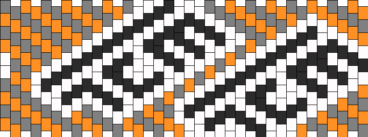 The Crystal Method Kandi Pattern
