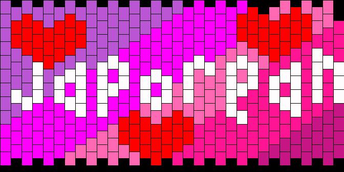 Japorean Kandi Pattern