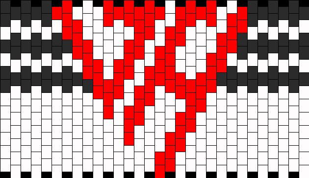 Van Halen Logo Kandi Pattern
