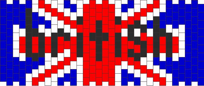 British Kandi Pattern
