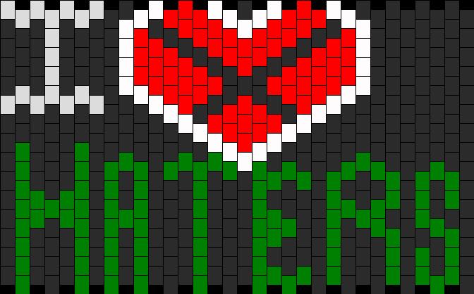 IHateHaters Kandi Pattern