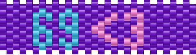 69 Kandi Pattern