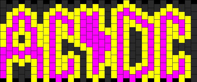 Acdc Kandi Pattern