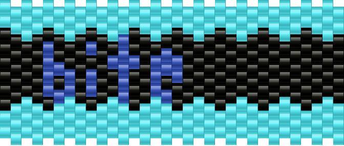 BITE Kandi Pattern