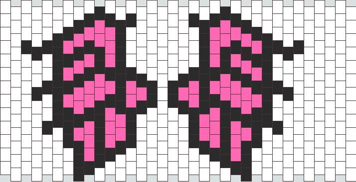 Angel Wings  Kandi Pattern