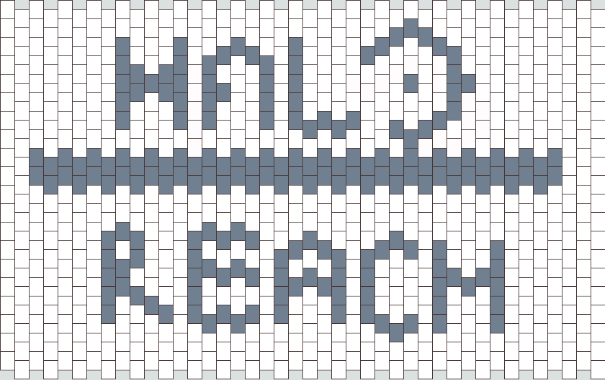 Halo Reach  Kandi Pattern