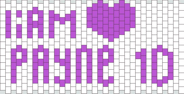 Liam Payne 1D Kandi Pattern