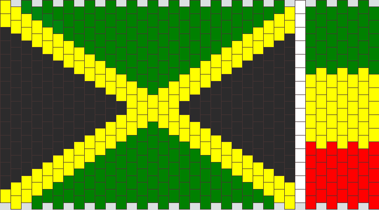 flages pony bead patterns misc kandi patterns for kandi cuffs