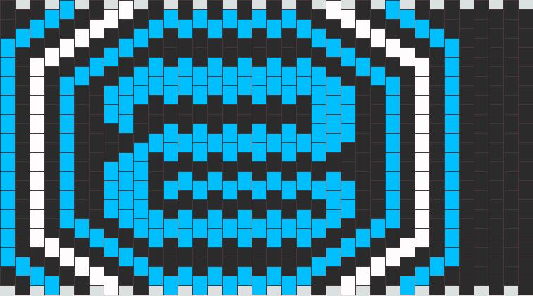 Donald Glaude Cuff Kandi Pattern